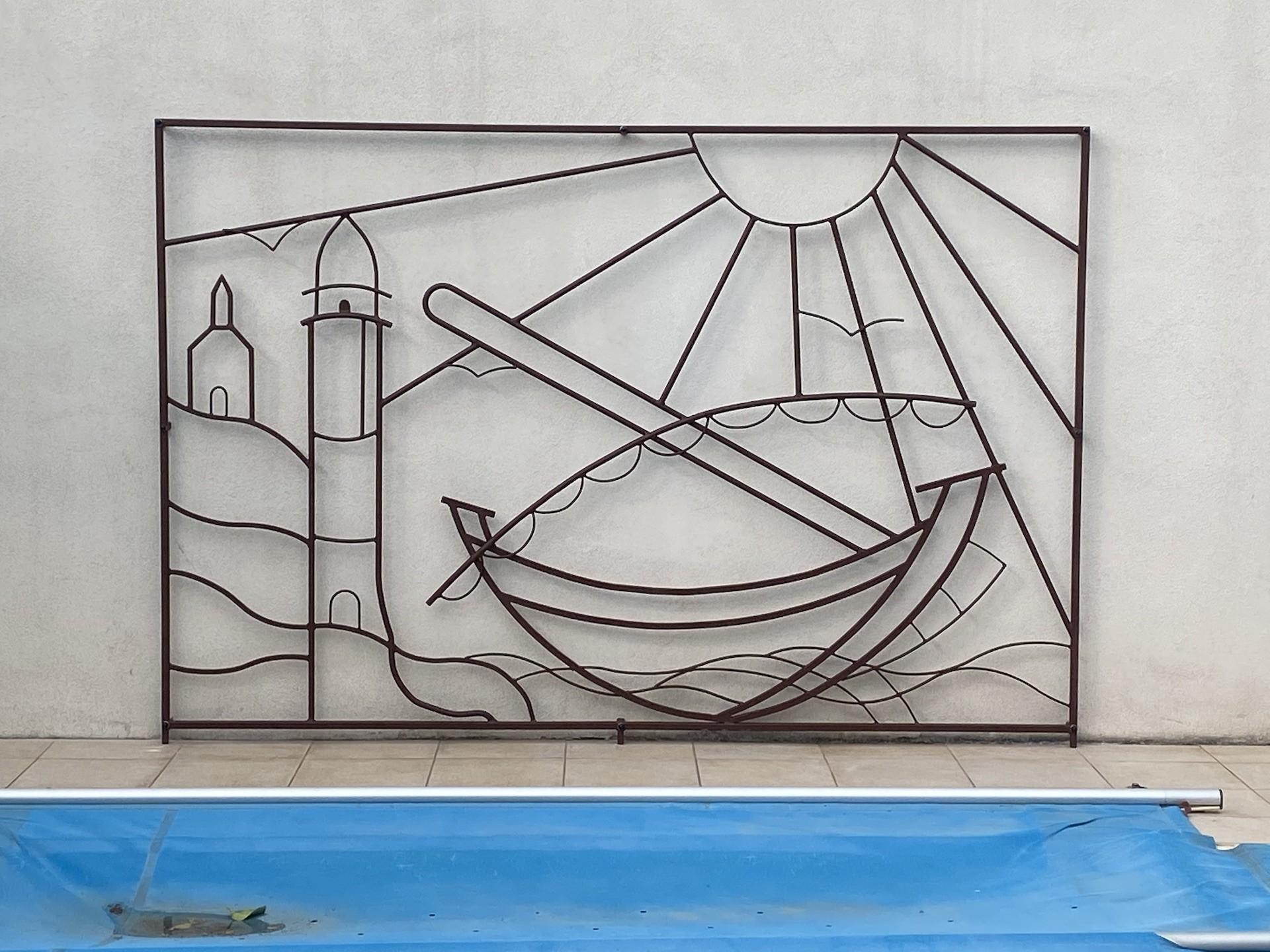 Tableau décoratif en relief