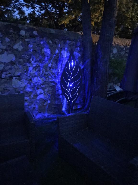 Lampe design feuille